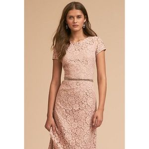 NWT ANTHROPOLOGIE Deja Floral Lace Gown